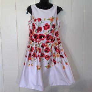 Lauren Ralph Lauren fit & flare floral dress